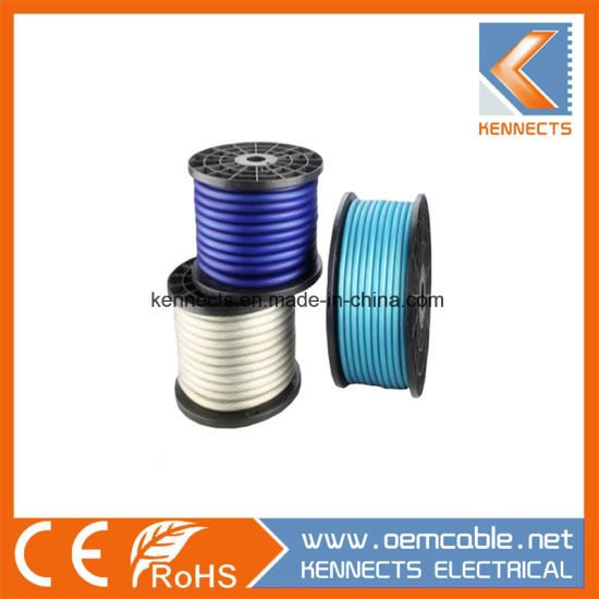 Plastic Reel Packing Transparent Car Battery Wire 4AWG Wire