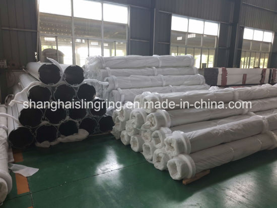Silver Anodized Industrial Aluminium Extrusion Profile China Manufacturer pictures & photos