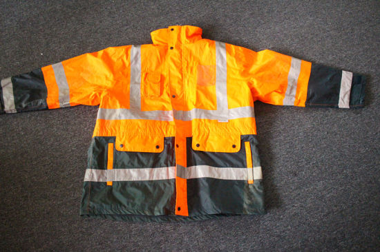 Safety Reflective Jacket Force En-471 Mark Class II pictures & photos