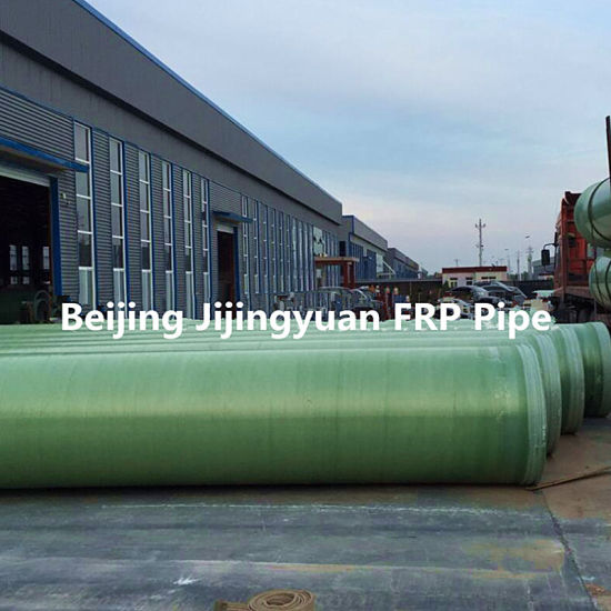 China FRP GRP Pipe Used in Government Waste Water Transport
