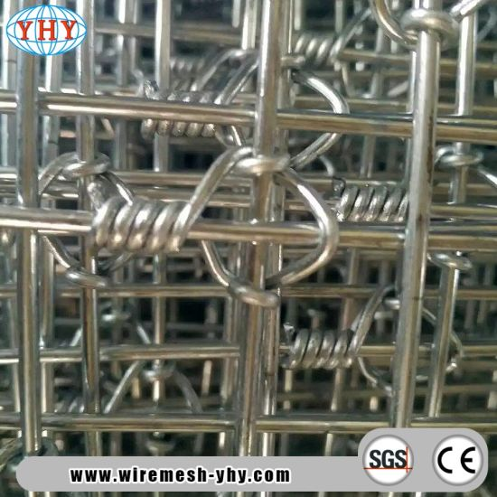 1 5mx100m Tight Lock Knot Woven Metal Fence for Deer