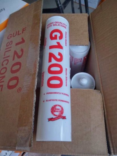 China Silicone Sealant G1200 MSDS - China Glass Silicone Sealant