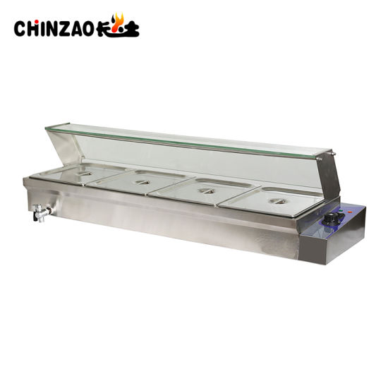 China Stainless Steel Kitchen Equipment Electrjc Bain Marie China