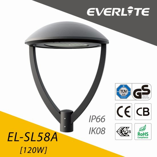Everlite 120W LED Garden Lamp with ENEC CB Ce GS Class I & Class II pictures & photos