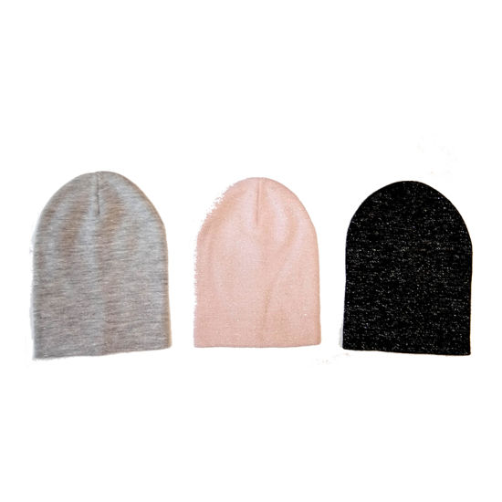 c00251cccd4 China Lady Winter Warm Fashion Lurexy Plain Hat Beanie Cap - China ...