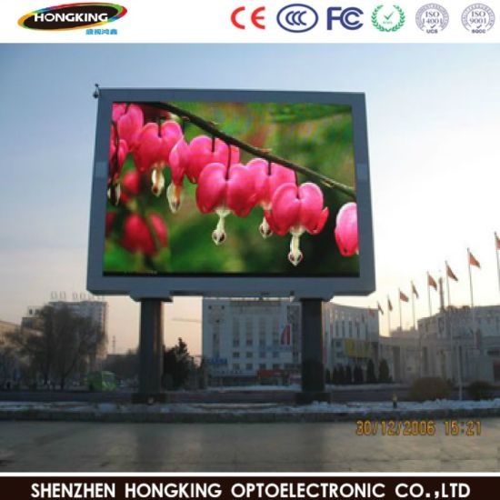 P6 mm Full Color Waterproof Fixed LED Module, LED Display Screen for Outdoor Advitising