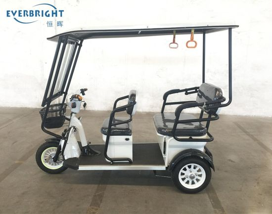 Amazing Price DC Closed Passenger 3 Wheel Electric Tricycle for Phlippines Market pictures & photos