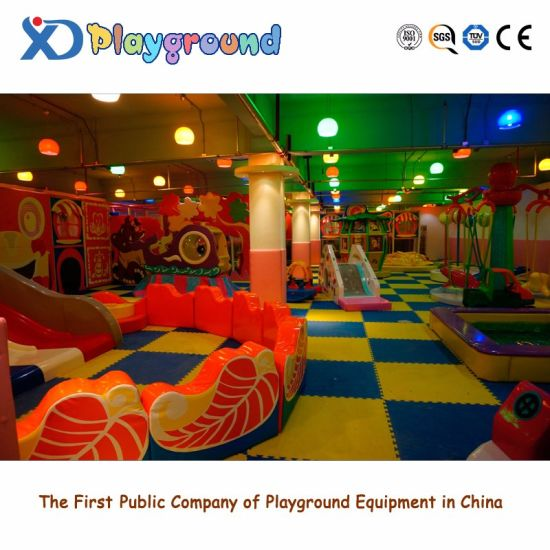 Children Commercial Indoor Playground Equipment with Toys