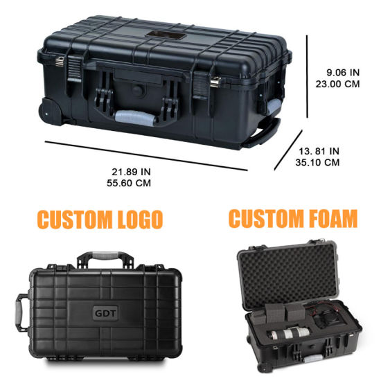 Wholesale Wheeled Plastic Tool Box Trolley Flight Case