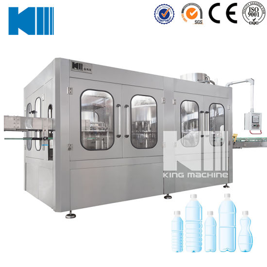 Complete Line Purified Bottling Water Filling Machine
