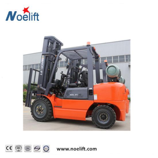 2-4 Ton LPG/Gasoline Forklift Truck for Sale, New Forklift