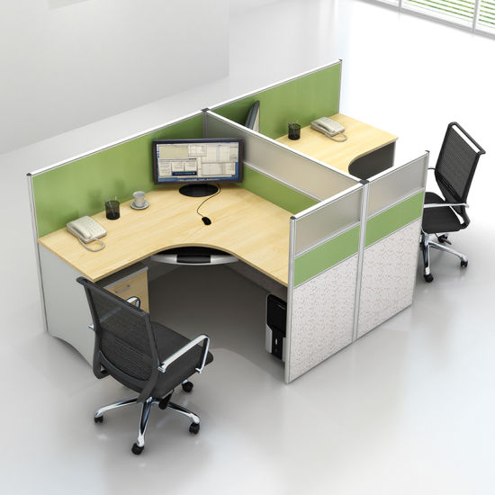 Cheap Office Cubicles With Hot Sales Cheap Green Color Workstation Cubicles For Persons China