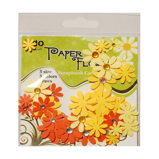 China paper flower wih gems assorted bag for card making f2 1 2 paper flower wih gems assorted bag for card making f2 1 2 mightylinksfo
