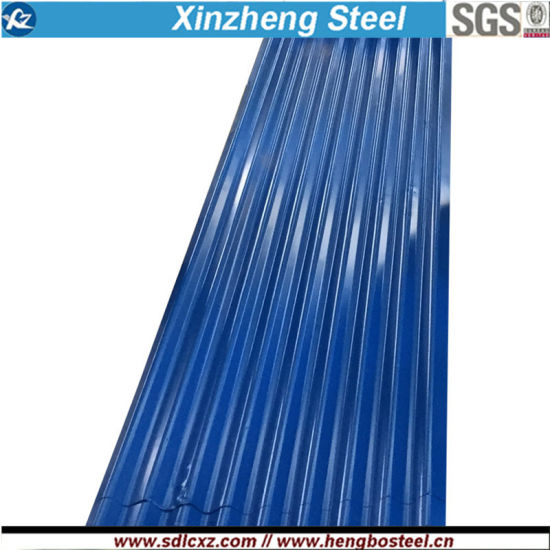 SGCC PPGI Color Coated Corrugated Steel Sheet