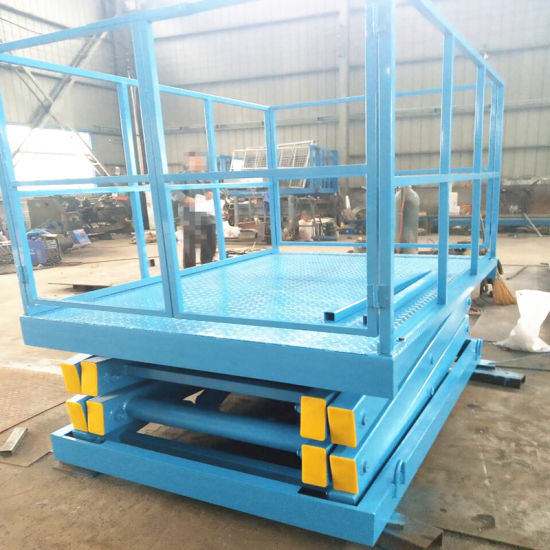 Stationary Scissor Lift Table Use for Cargo Lifting with Ce Certificate