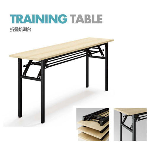 China Cheap Price Foldable Training Desk With Powder Coated Metal - Foldable training table