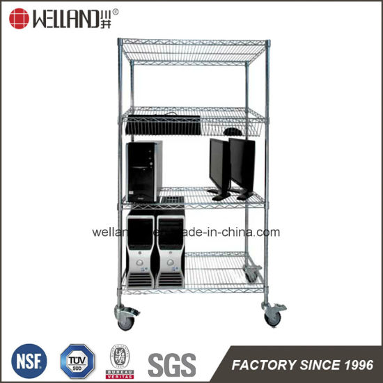 office trolley cart. fine trolley multifunction modern adjustable chrome metal office wire storage trolley  cart for s