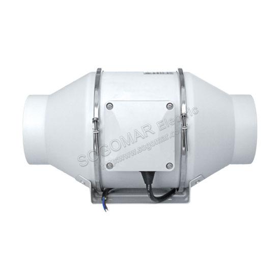 Professional 100mm Multi-Speed Kitchen Cooler Industrial Exhaust Fan