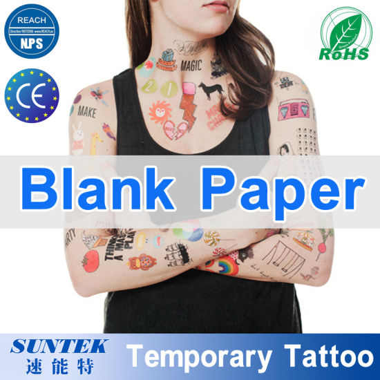 image relating to Printable Temporary Tattoos named Safe and sound for Pores and skin Printable Blank Momentary Tattoo Paper
