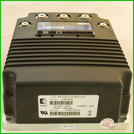 Curtis Programmable DC Sepex Speed Motor Controller Model 1268-5403 36V/48V-400A 5.5kw Golf Cart Parts pictures & photos