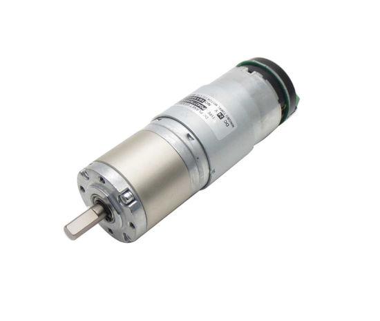 DC 12V 24V 24rpm 10kgf. Cm 42mm Diameter Planetary High Torque DC Gear Box Motor Speed Reducer