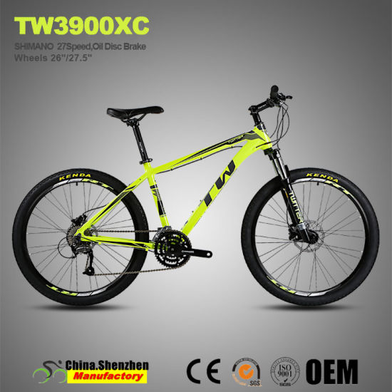 27.5inch Mountain Bike with 15.5inch to 17.5inch Aluminum Alloy Frame pictures & photos