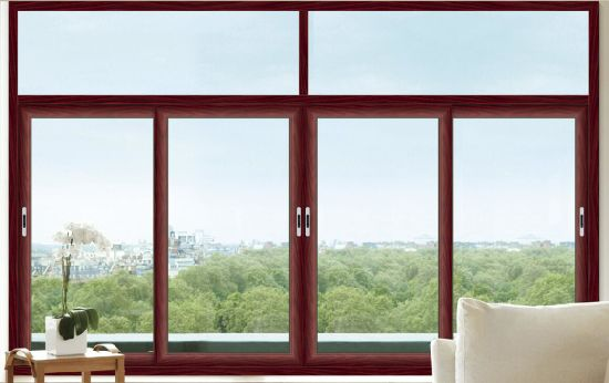 China Aluminium Frame Sliding Window Double Glass Window - China ...