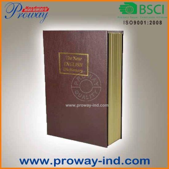 China Retro Dictionary Book Safe with Key Lock - China Safe, Book Box