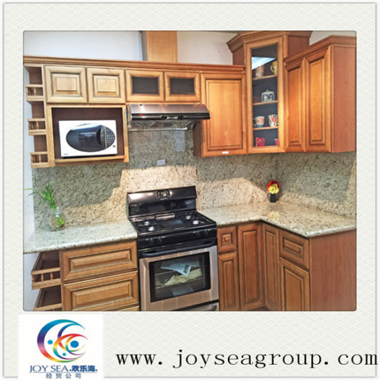 China Wood Kitchen Cabinet Commercial Designs For