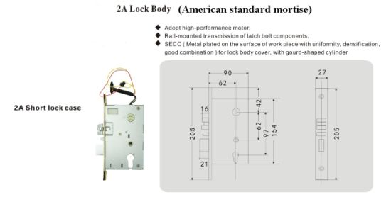 304 Stainless Steel Bluetooth Access Door Handle Lock pictures & photos