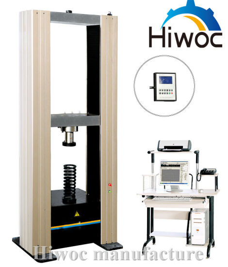 Factory Direct Sale Cheap Price and Prefessional Electronic Universal Rubber Plastic Material Tensile Testing Machine pictures & photos