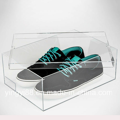 Super Quality Acrylic Sneaker Shoe Box Display Case pictures & photos