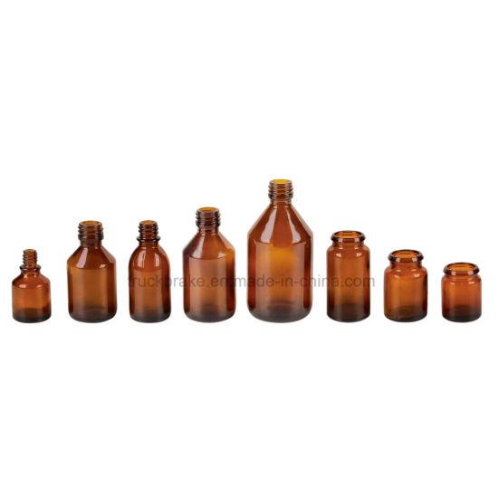 Pharmaceutical Amber Glass Bottles Vial 10/20/25/30/50/100ml