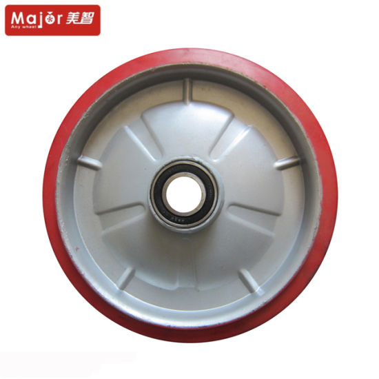Hand Truck 10 Inch Solid Rubber Wheel for Sale pictures & photos