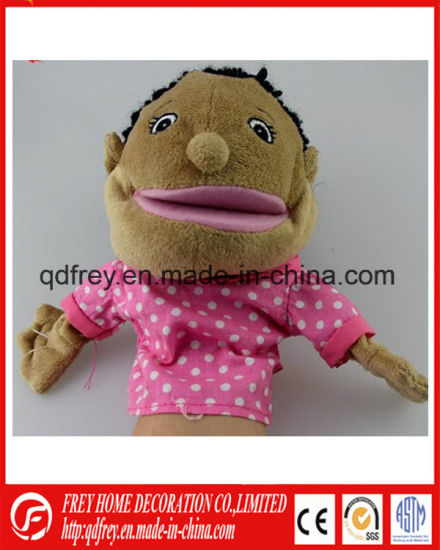 OEM Customized Hand Doll Puppet for Baby Gift