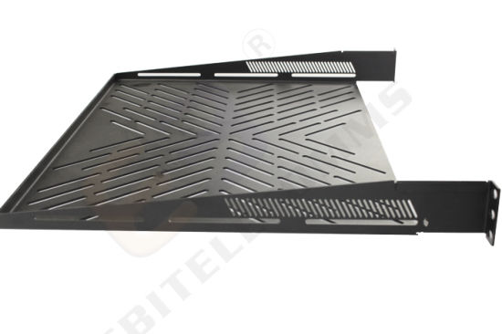 2 Point 1u 2u Cantilever Vented Shelf for Network Data Cabinet pictures & photos