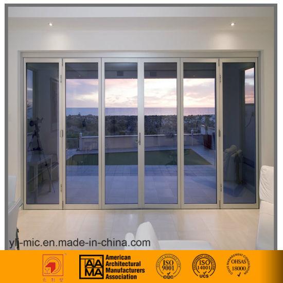 China Bespoke Aluminum Side Hung Door Multiple Glass Pane China