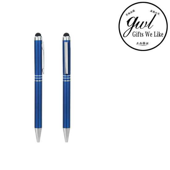 Blue Ballpen with Logo Branding P016-016 pictures & photos