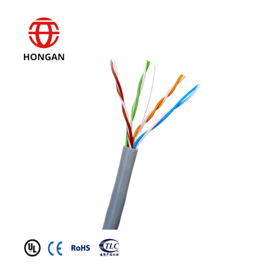 China Indoor Horizontal Twisted-Pair Cable Category 5 UTP Cat5 ...