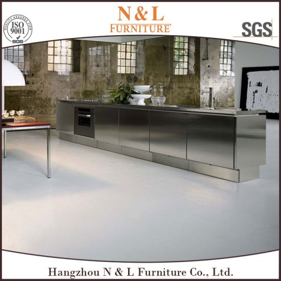 N&L Durable Hotel Stainless Steel Outdoor Kitchen Cabinet pictures & photos