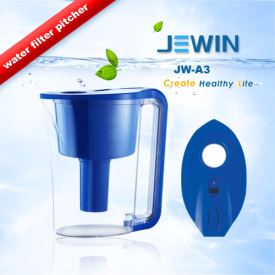 Portable Plastic Water Filter Pitcher Health pictures & photos
