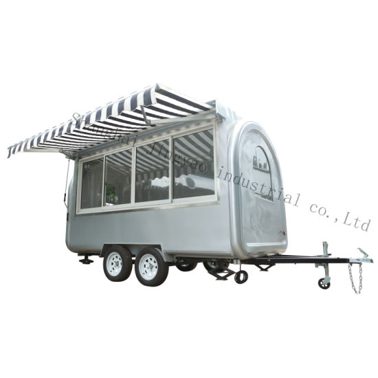 Popular Multi-Function Electric Mini Motorcycle Mobile Hot Dog Ice Cream Truck pictures & photos