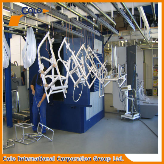 Powder Coating Line Conveyor System Spare Parts Chain Hangers pictures & photos