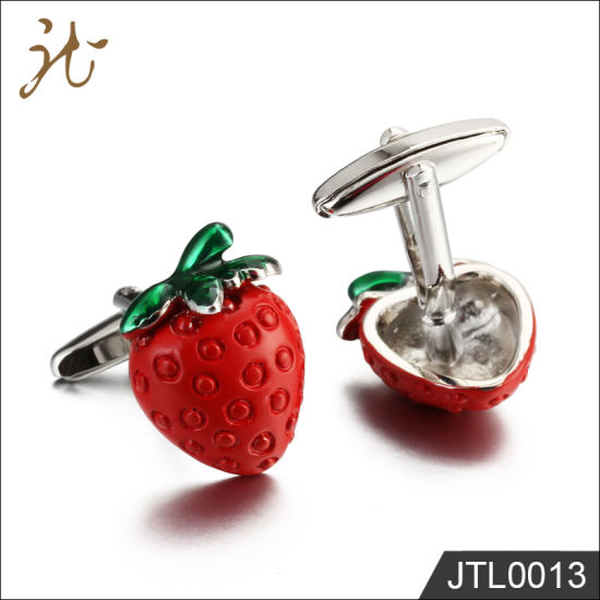 Fashion Nice Quality Red Strawberry Cuff Links for Sale pictures & photos