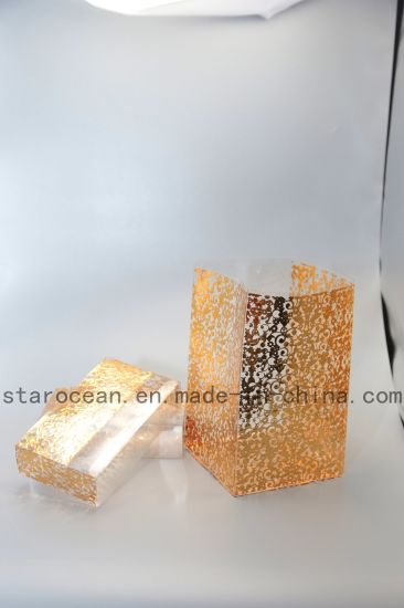 Foil Stamping Box High Quality Plastic Packaging Products