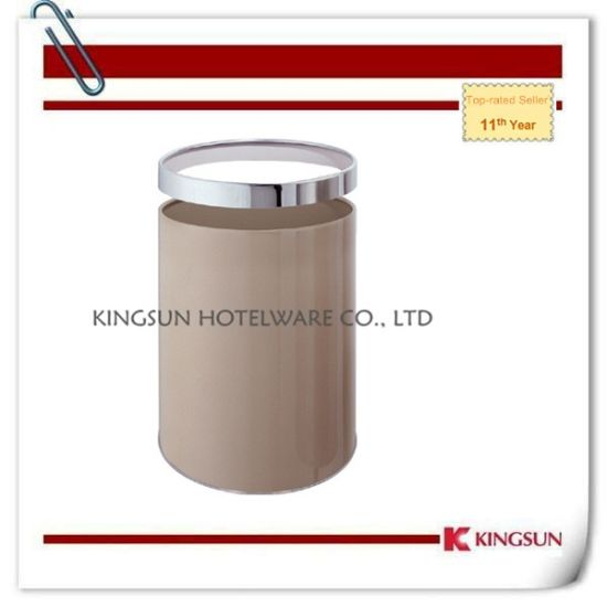 Room Use Metal Waste Container with Removable Ring Db-733