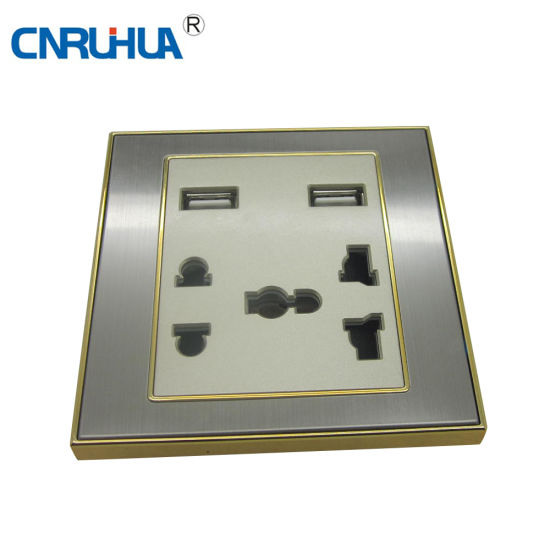 OEM Top Sales USB Electrical Switch Socket
