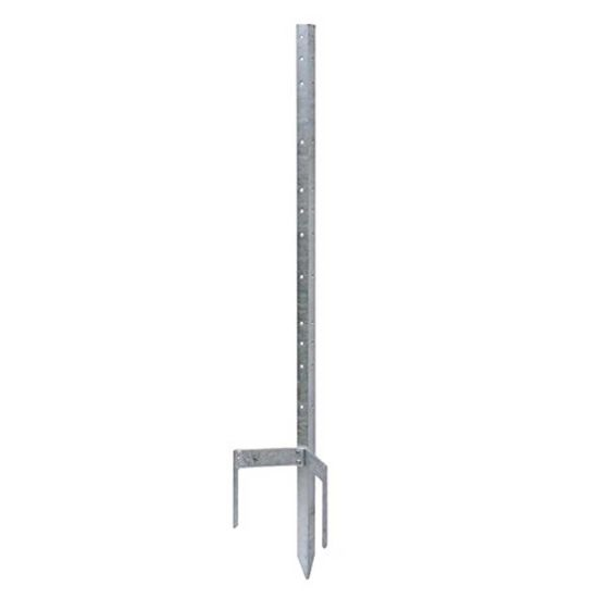 Custom Galvanised 120cm Electric Metal Fence Post