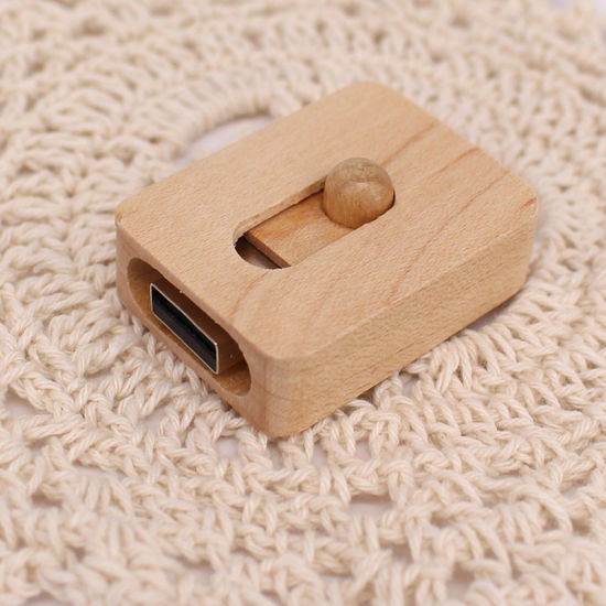 Slide Type Wooden USB Flash Drive (UL-W015) pictures & photos
