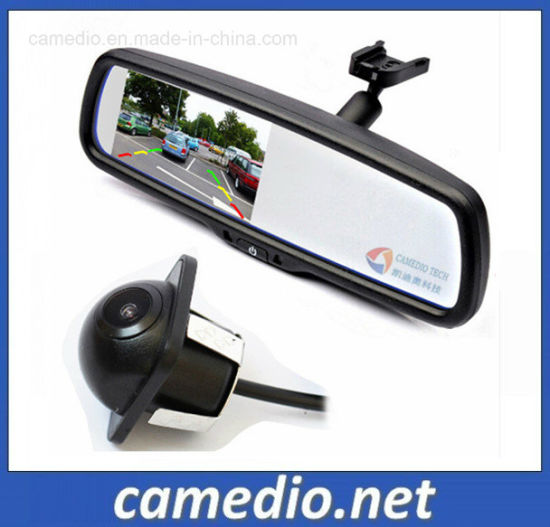 Parking Assistance System Rear View Mirror with Rearview Backup Camera